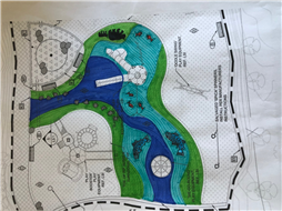 Final Design of the rubber surface at Maffeo-Sutton Park