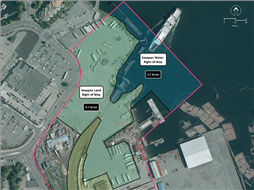Map of Seaspan Right of Way