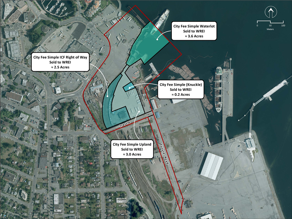 Agreement Reached To Remove Seaspan Right Of Way From 1 Port Drive