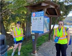 Park Ambassadors at Westwood Lake Park