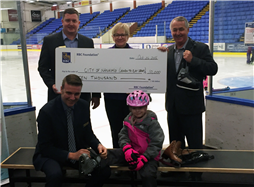 Cheque Presentation from RBC to City of Nanaimo