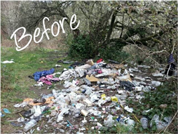 Barsby Park Before Clean Up