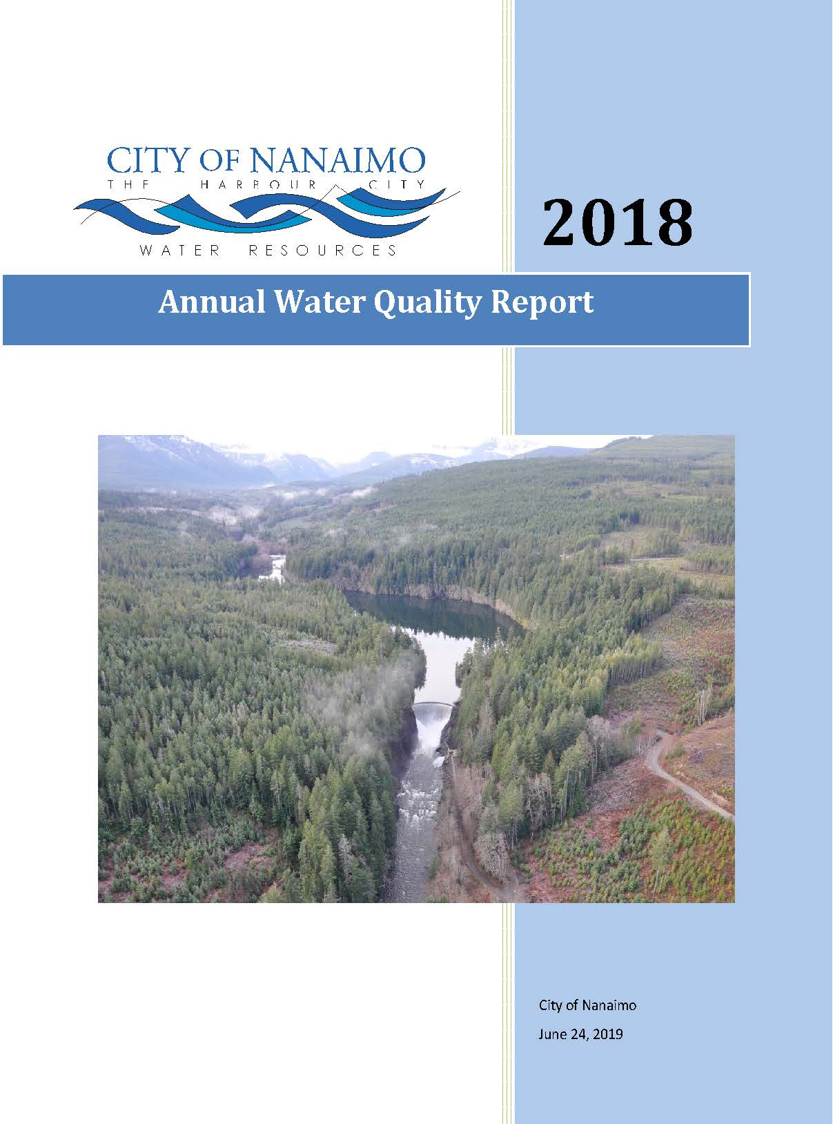 Annual Water Quality Report 2018 front cover