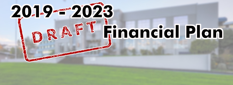 Draft Financial Plan 2019 banner