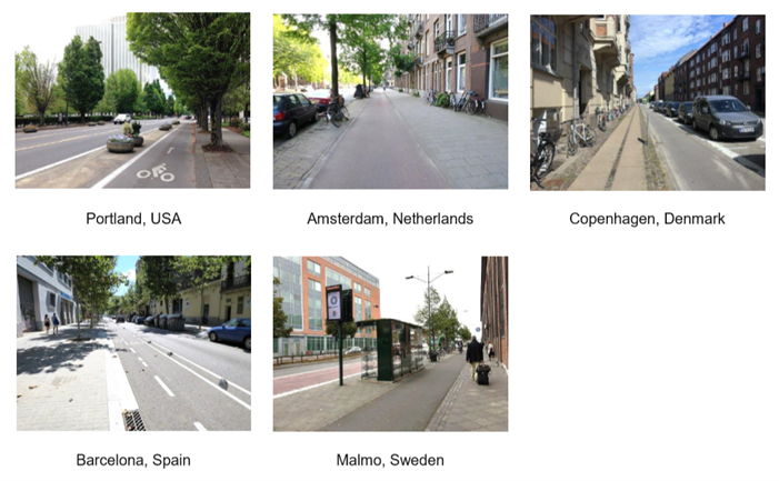 International Cities - Complete Streets