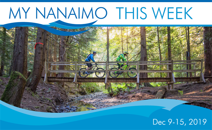 My Nanaimo Header image of mountain bikers