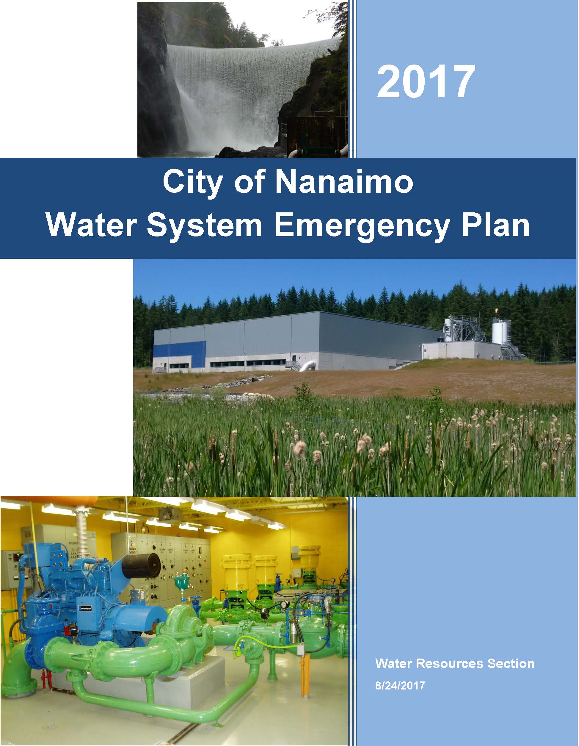 Water System Emergency Plan 2017