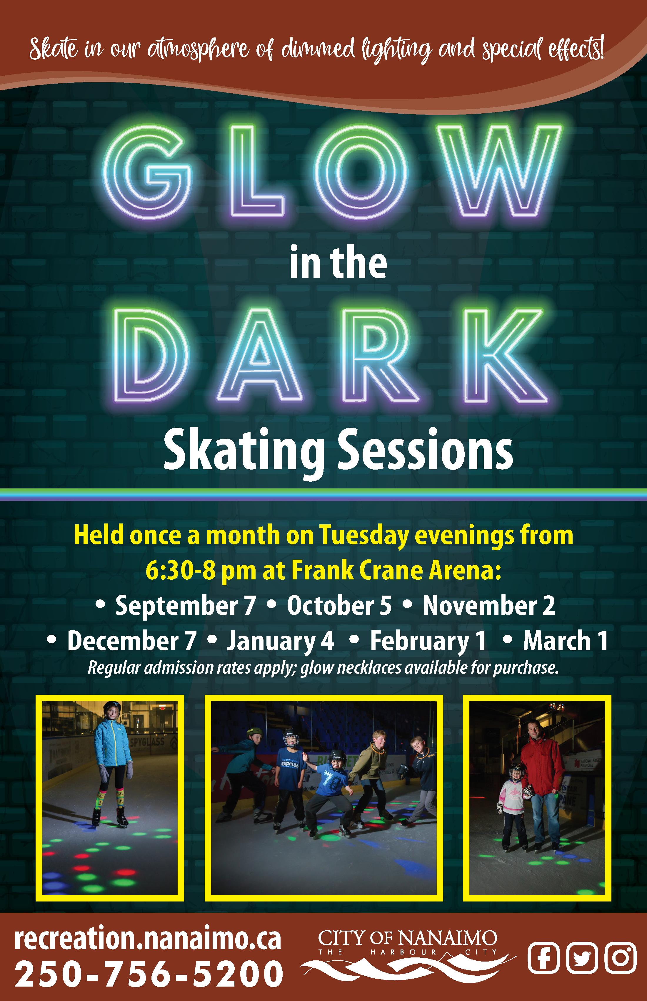 Glow in the Dark Skates