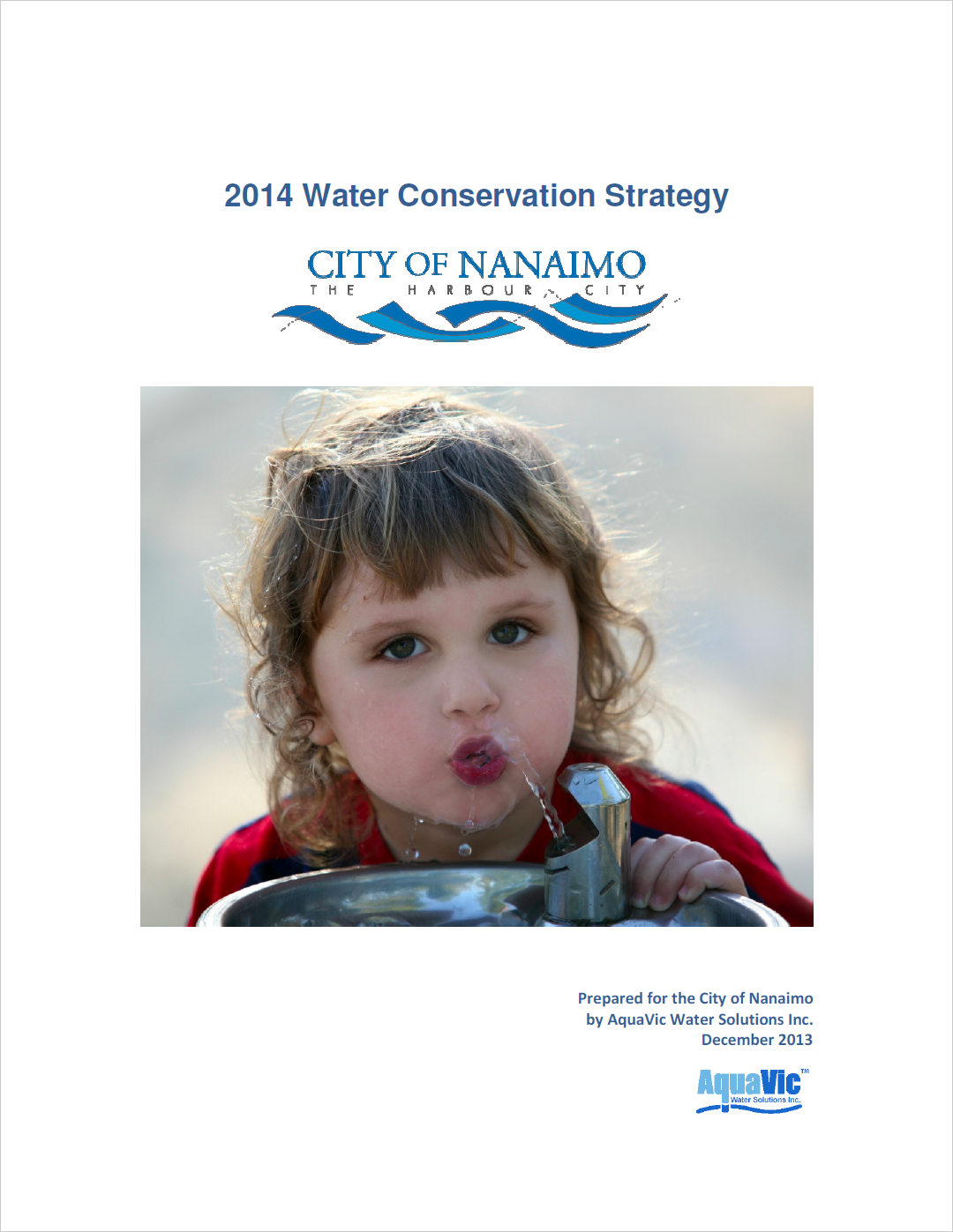 nanaimowaterconservationstrategycover