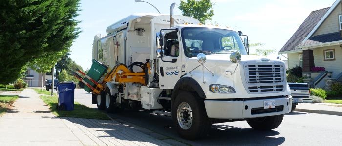 CNG Recycling Truck
