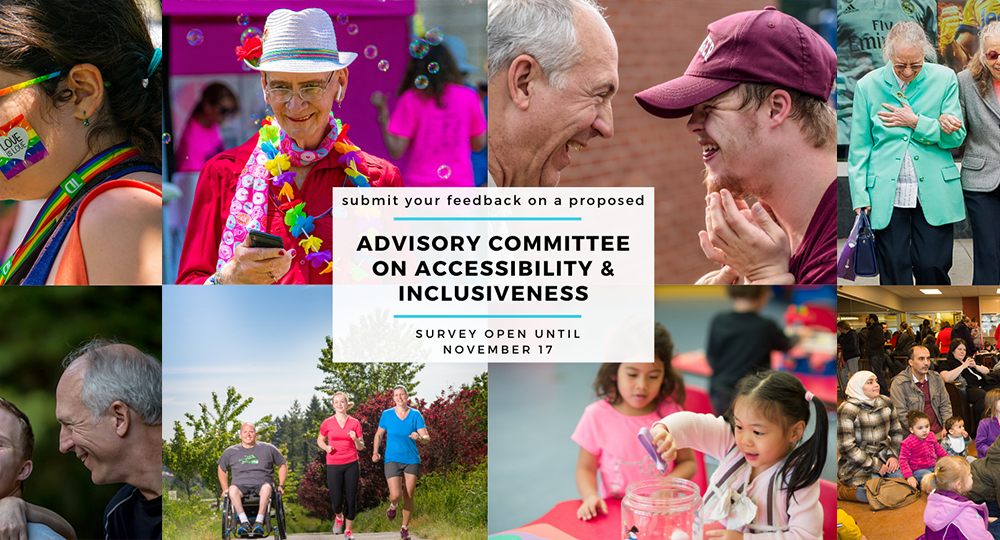 Accessibility and inclusiveness survey