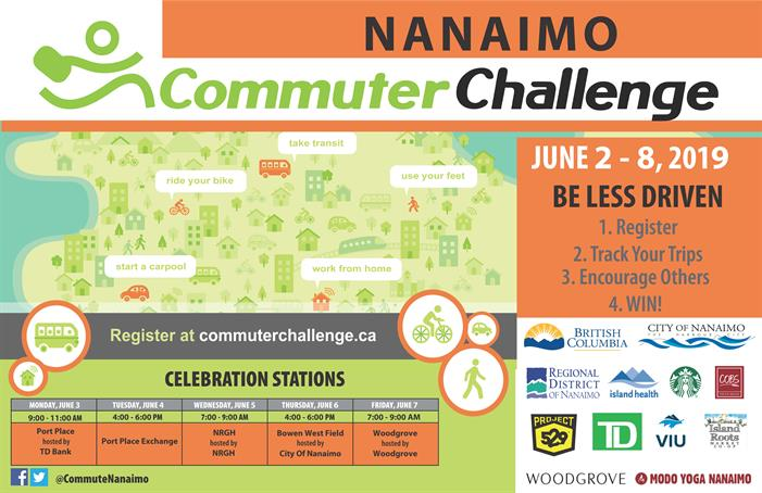 2019 Commuter Challenge Poster