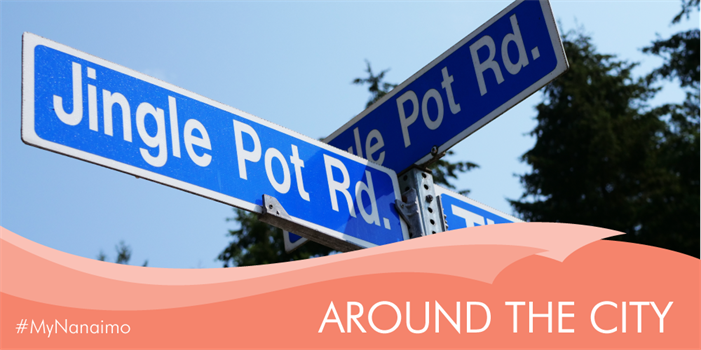 Around the City header image of Jingle Pot Road Sign