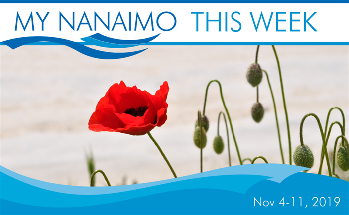 My Nanaimo this week for November 4 to 11 header image