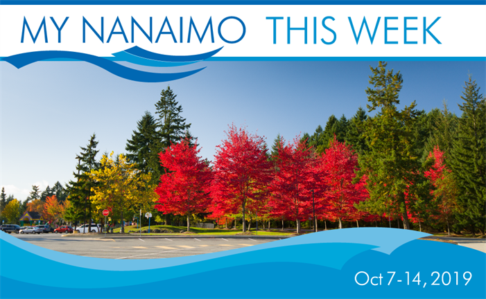 My Nanaimo This Week for October 7-14 header image of fall foliage