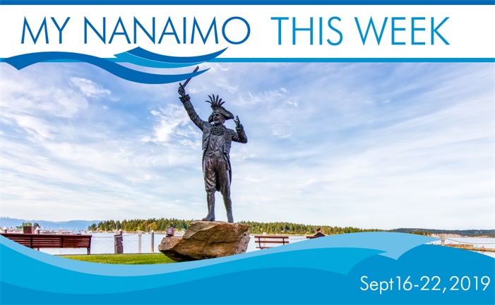 My Nanaimo This Week - Image of Frank Ney Statue
