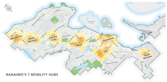 Mobility Hub Map from TMP