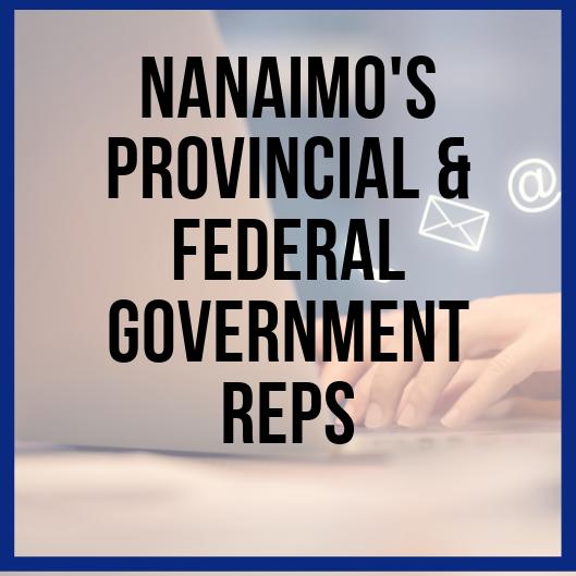 Nanaimo's Provincial & Federal Government Representatives