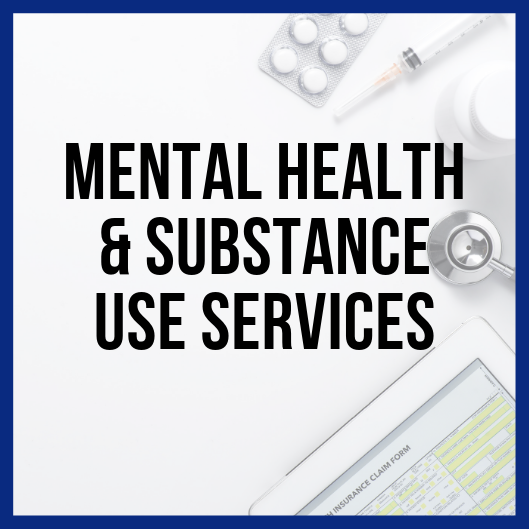 Mental Health & Substance Use Services