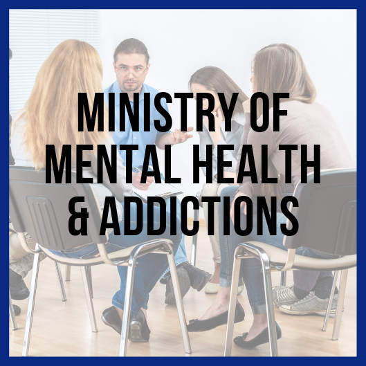 Ministry of Mental Health & Addictions